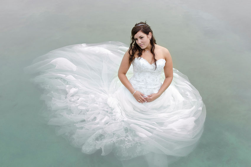 Trash your dress